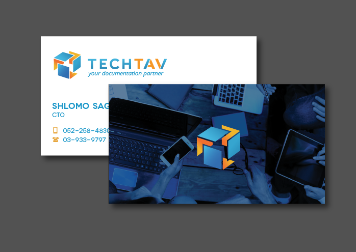 Tech Tav business cards
