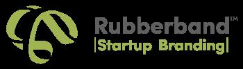 Rubberband TM startup branding logo