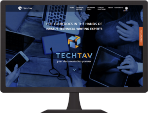 Tech tav brand and site design